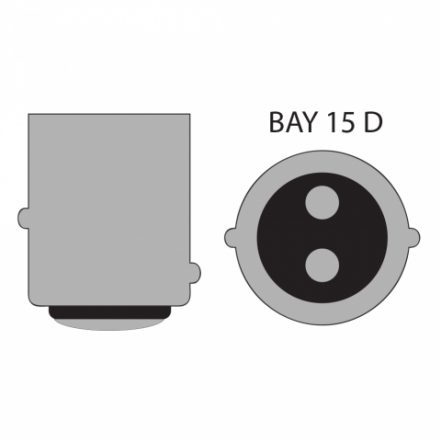 Avto LED žarnica - sijalka Canbus - BAY15D - 12 V • 3,5 W, 2 kosa / blister