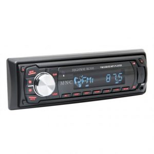 Avtoradio MP3 M.N.C z bralnikom kartic USB / SD / MMC v črni barvi