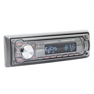 Avtoradio MP3 M.N.C z bralnikom kartic USB / SD / MMC v sivi barvi