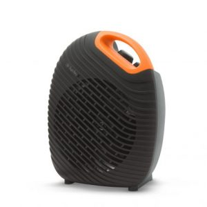 Dizajnerski termoventilator - kalorifer Vog&Arths s termostatom 1800W/2000W črno oranžen