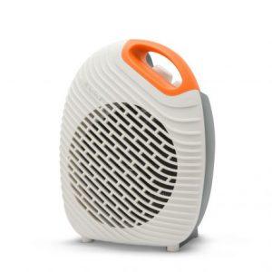 Dizajnerski termoventilator - kalorifer Vog&Arths s termostatom 1800W/2000W belo oranžen