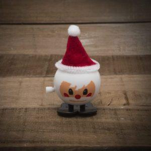 """Igrača za navijanje """"Crazy Santa"""" v višini 8 cm - božiček"""