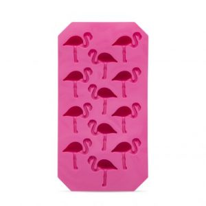 Izdelovalec za ledene kocke, silikon, flamingo