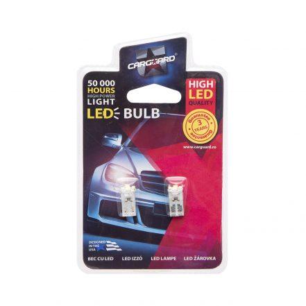LED žarnica - sijalka - 0,6W • T10 • 42 lumnov - 2 kos / blister