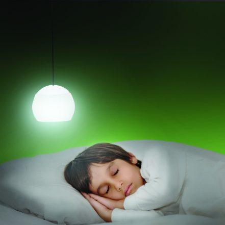 LED viseča baterijska svetilka