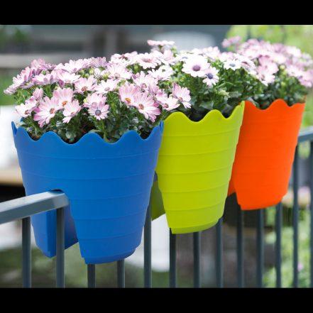 Lonec za rože - več barv - 3 kosi / paket