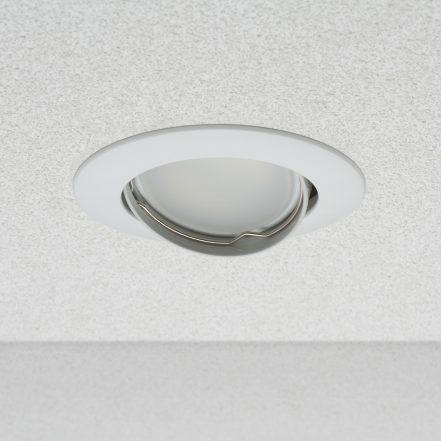 """Okovje za pritrditev žarnice GU10/MR16 nastavljiv kot """"Helsinki"""" belo"""