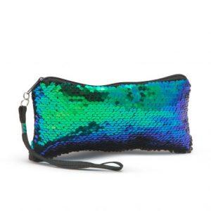 Podaljšana kozmetična torbica - zadrga - 20 x 12 x 8 cm - 8 barv
