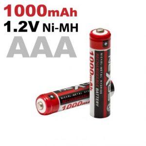 Polnilna baterija - AAA • HR03 - Ni-MH • 1,2 V • 1000 mAh - 2 kos / blister