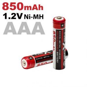 Polnilna baterija - AAA • HR03 - Ni-MH • 1,2 V • 850 mAh - 2 kos / blister