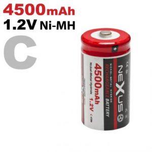 Polnilna baterija - Baby • C • HR14 • Ni-MH • 1,2 V • 4500 mAh