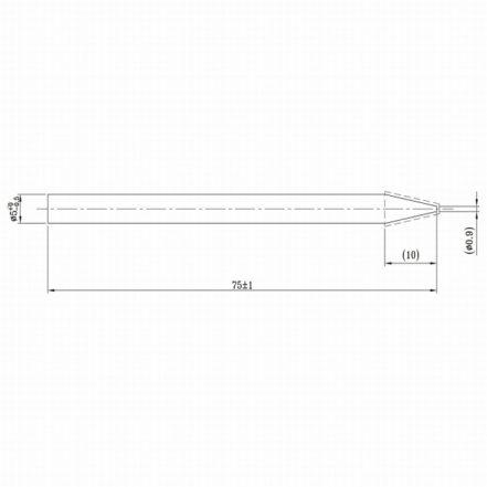 Spajkalna konica za spajkalnik 28022 - 2 kos / blister
