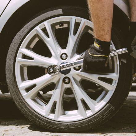 "Adjustable torque wrench - 1/2"", 40 - 210 Nm"