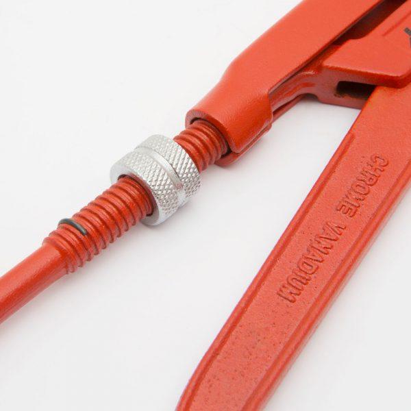 """Ključ za cevi - 1,5 """"in čeljust 45 °"""