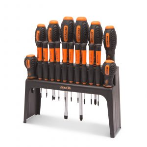 18 delni komplet izvijačev z namiznim stojalom
