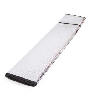 4-sezonska zaščita vetrobranskega stekla - aluminij 200 x 70 cm