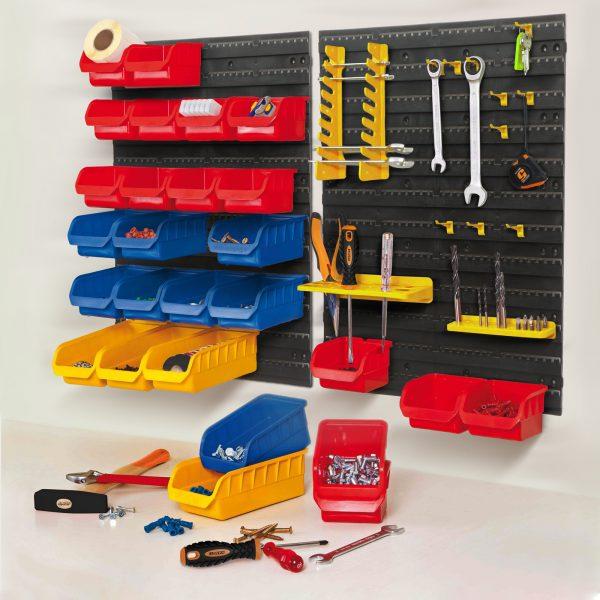 43 delni stenski organizator orodja za delavnice