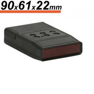 ABS plastična škatla za daljinski upravljalnik - 90 x 61 x 22 mm