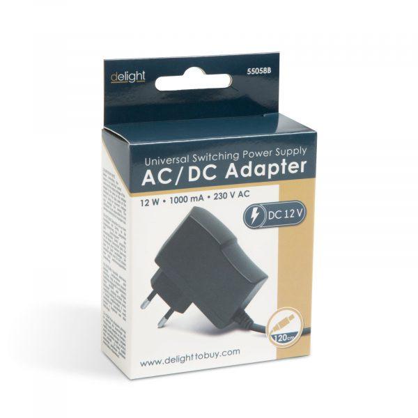 Adapter - napajalnik - 12V • 12W • 1000mA