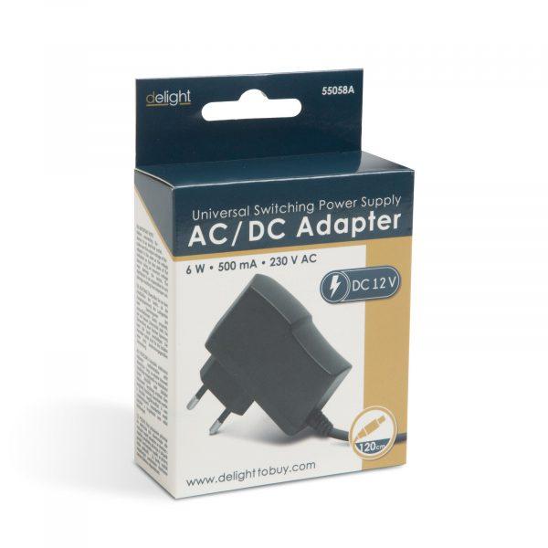 Adapter - napajalnik - 12V • 6W • 500mA