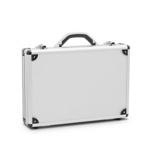 Aluminijasti kovček za orodje s ključavnico - 400 x 280 x 80 mm