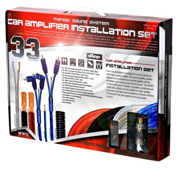 AVto Hi-Fi kabel set - 33 kosov