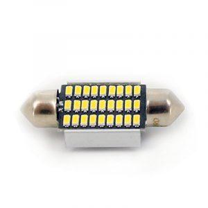 Avto LED žarnica - sijalka Canbus - Sofit 36mm - 12 V • 2,5 W, 2 kosa / blister