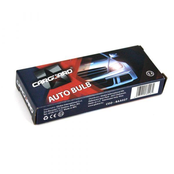 Avtomobilska žarnica - BAA027 - T8.5 - 12V - 3W - bela - 10 kosov / paket