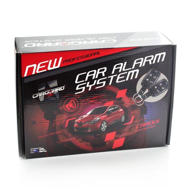 Avtomobilski alarmni sistem z daljinskim upravljalnikom in kompletom za centralno zaklepanje - CAR001