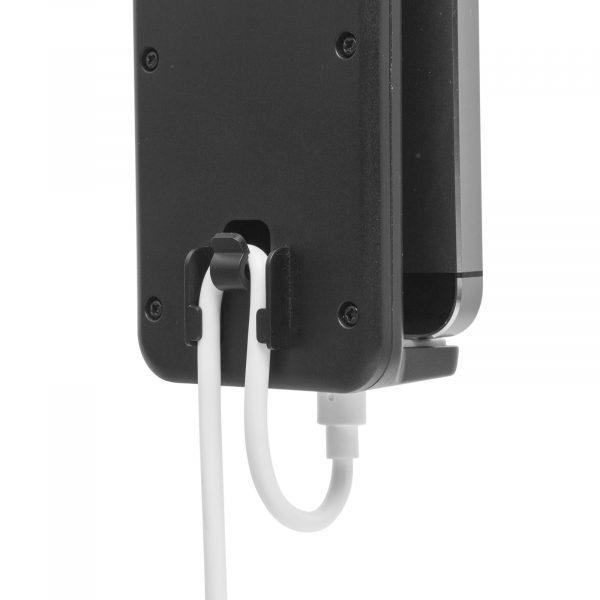Avtomobilsko držalo za mobilni telefon črna / siva