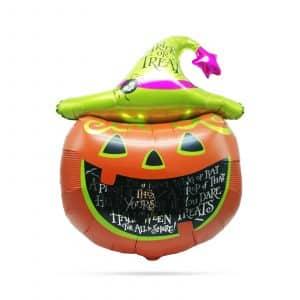 Balon za noč čarovnic - buča