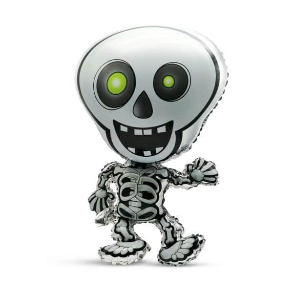 Balon za noč čarovnic - skeleton