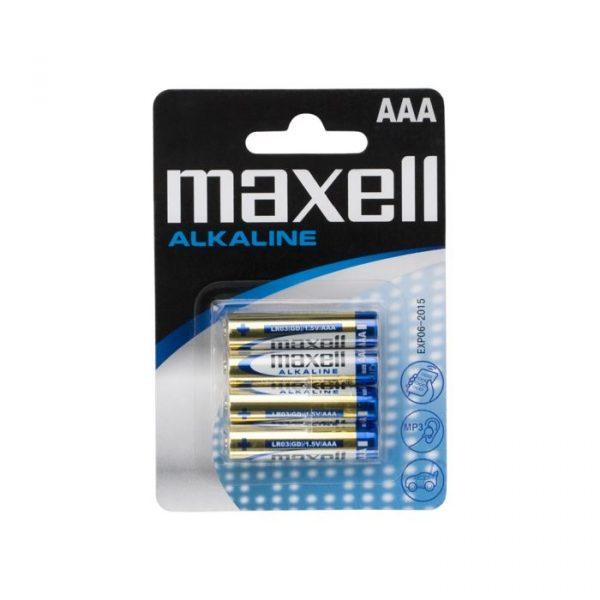 Baterija - 1,5 V • AAA • LR03 - alkalna • 1,5 V - 4 kosi / blister
