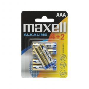 Baterija 1,5 V • AAA • LR3 - 4 + 2 kosa / blister