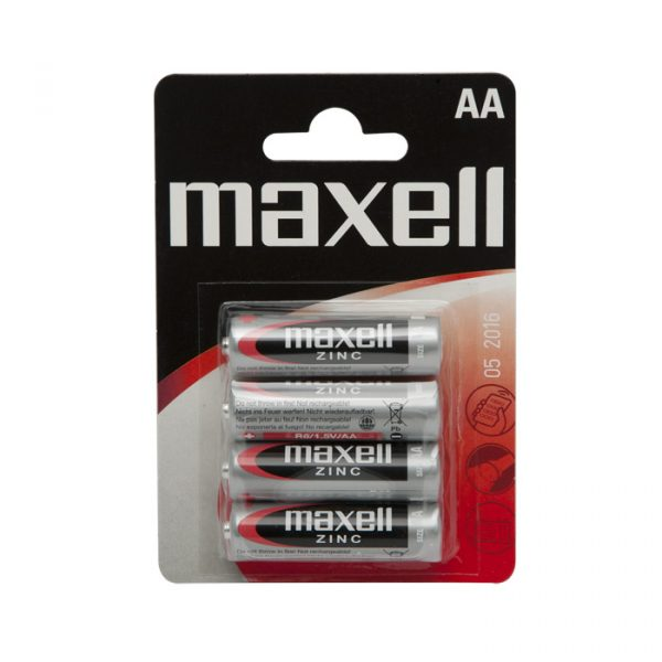 Baterija - AA • R6 - Zn • 1,5 V - 4 kosi / blister