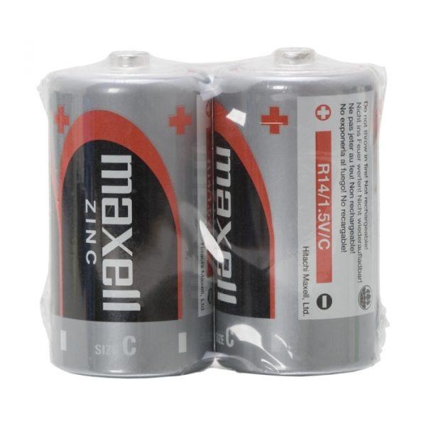 Baterija baby - C • R14 | Zn • 1,5 V - 2 kos