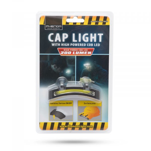 Baterijska COB LED svetilka za na kapo
