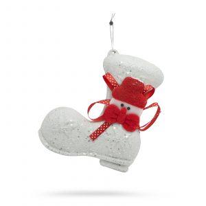 Božična dekoracija škorenj 11 cm