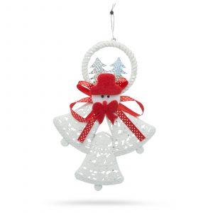 Božična dekoracija zvončki 17 cm