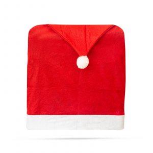 Božična prevleka za stol božičkova kapa 48x63cm