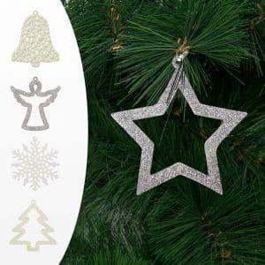 Božični dekor - več modelov - 10 cm - 2 kos / paket