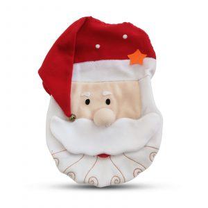 Božični dekor za straniščno školjko z vzorcem božička