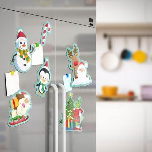 Božični magneti za hladilnik