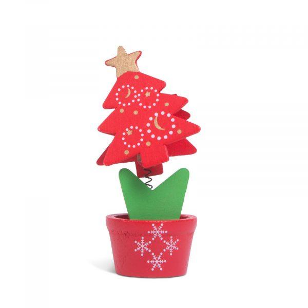 Božično okrasno držalo za fotografije - pomlad - 10 x 5 cm