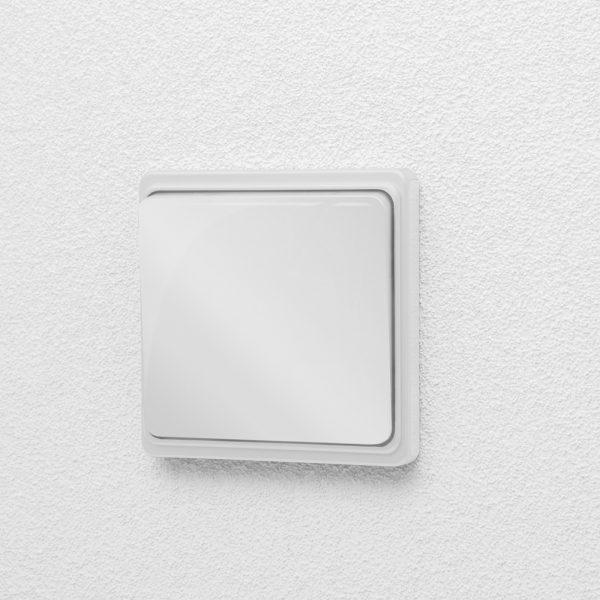 Brezžično stikalo KINETIC za dozo - 180v - 260V - 1000W - bele barve