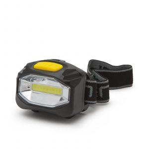 COB LED delovna svetilka za na glavo z visoko svetilnostjo - na baterijo - 12 kosov