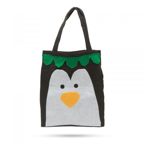 Darilna torba - pingvin 24 x 20 cm