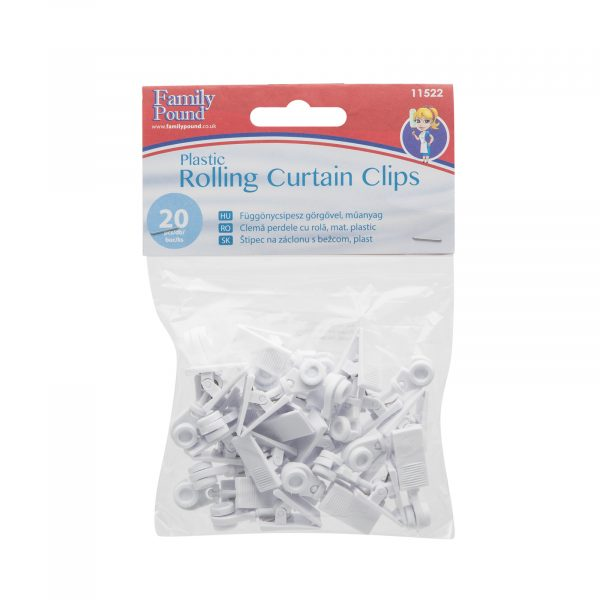 Dekorativne kljukice za obešanje zaves, 10 kosov / paket