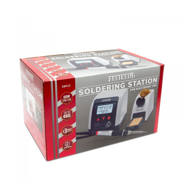 Digitalna spajkalna postaja - 230 V • 60 W - 160 - 480 ° C