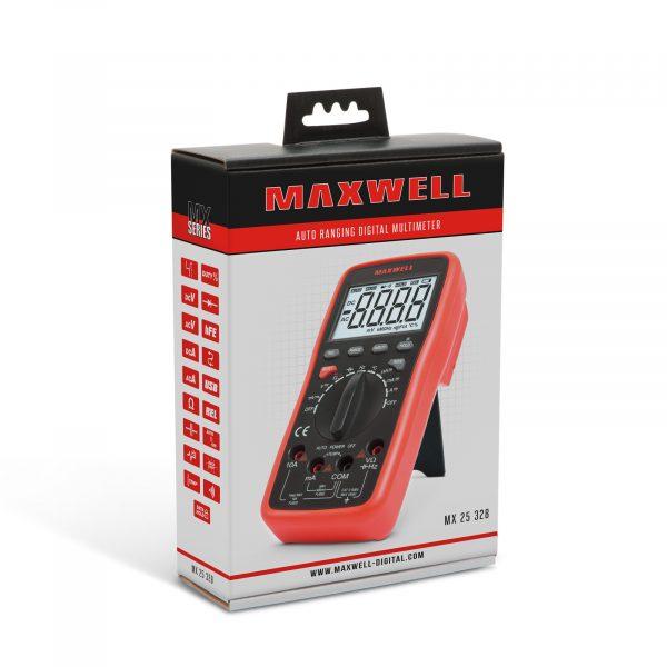 Digitalni multimeter Maxwell 5v1 - z USB povezavo za PC